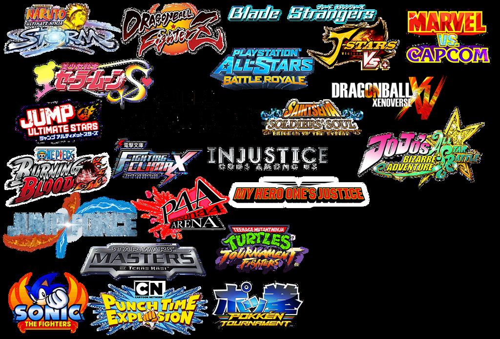 Animelogos by flashkill455