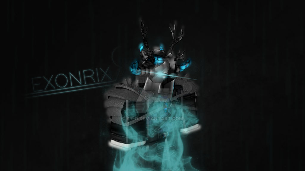 Roblox Wallpaper Exonrix By St G On Deviantart