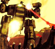 Cyborg Commando by swirekster