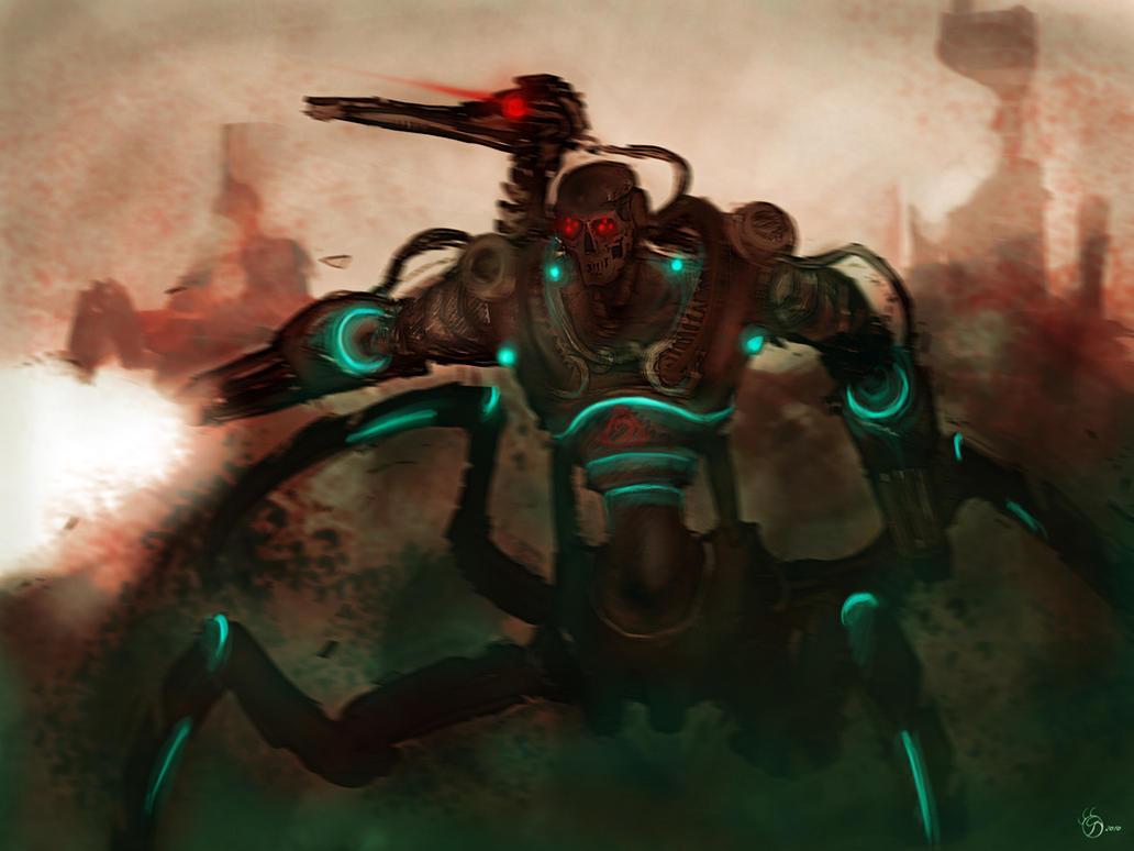 NOD Cyborg Reaper by swirekster