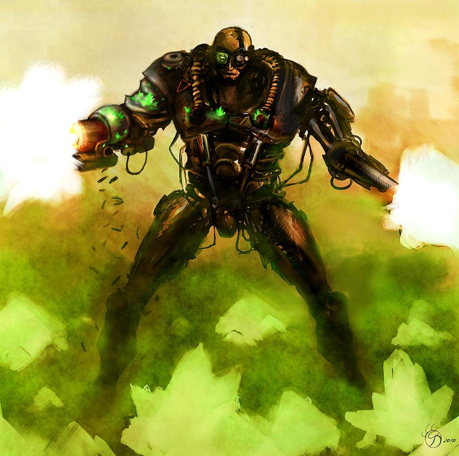 Nod cyborg by swirekster
