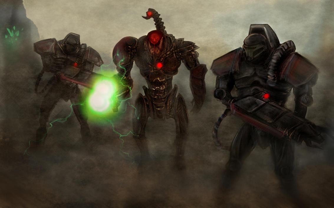 cyborgs by swirekster