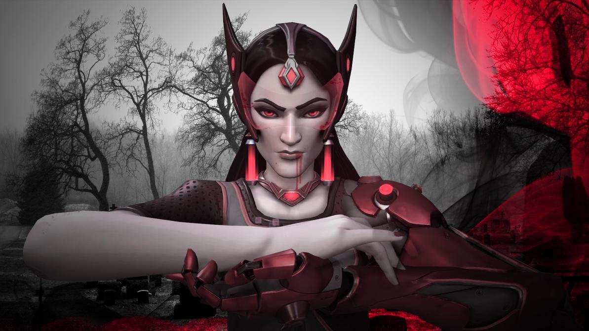 Vampiric Symmetra by FaithFoxx