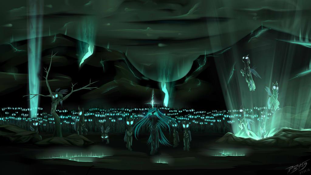 Army of Changelings by PhenyaNyaNya