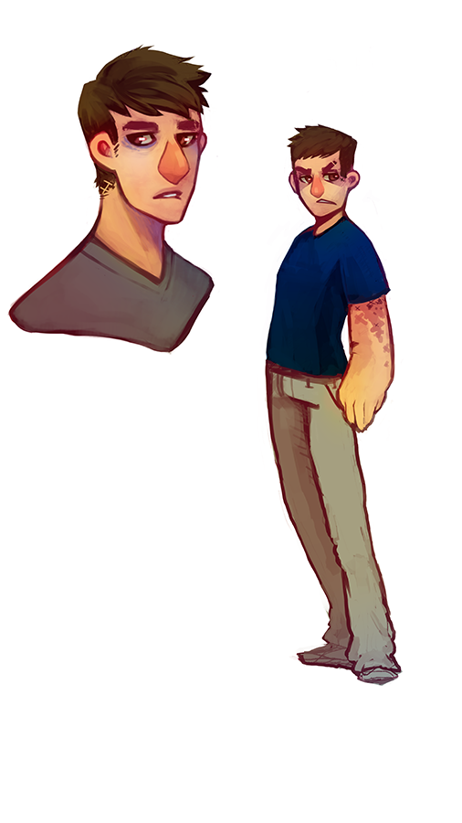 Alec sketchups by Captain-By-Moonlight