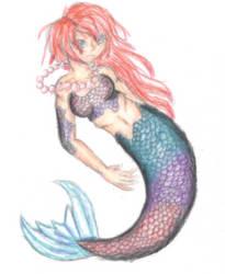 Mermaid by zarahnox