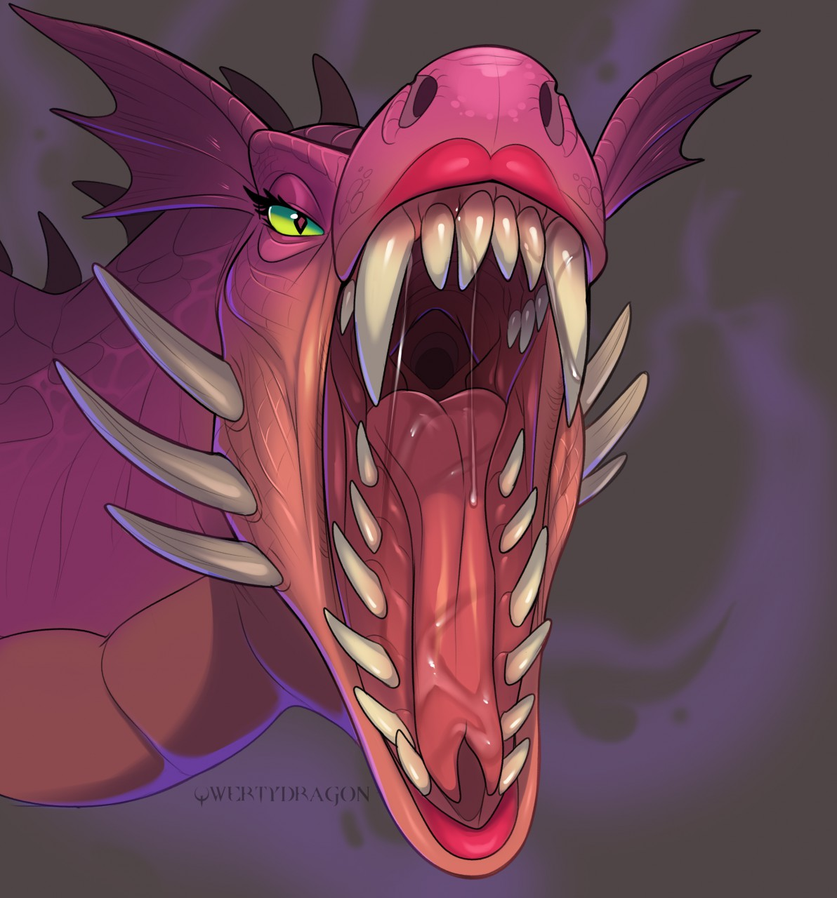 Characters: Dragons 1508467925_qwertydragon_shrek_dragon_by_reikothegwen-dc8unro