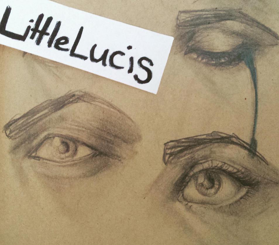 Eye Practice #1 by LittleLucis