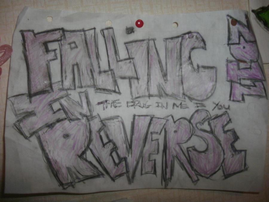 Falling in Reverse Drawing