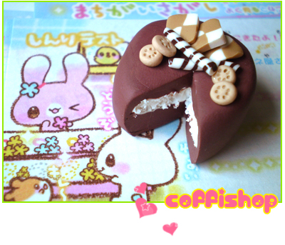 Biscuit cake by coffishop