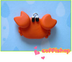 Crab charm by coffishop