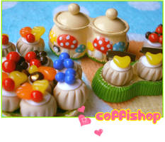 Miniature pastries 2 by coffishop