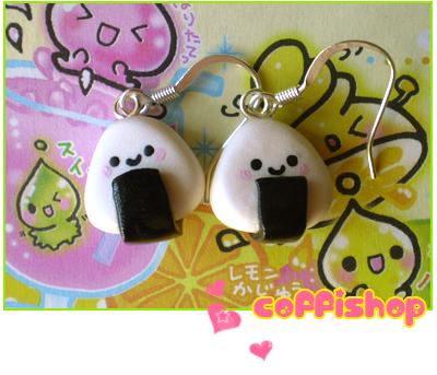 Cute onigiri by coffishop