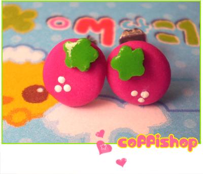 Fragoline stud earrings by coffishop