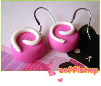 Pink sweets by coffishop