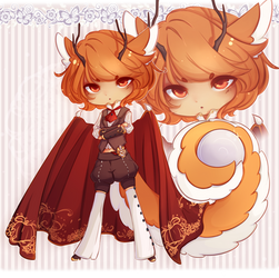 [Closed] Holiday Pumpkin Tea Dragon Auction
