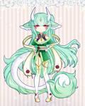 [CLOSED] Green Tea Dragon Adopt