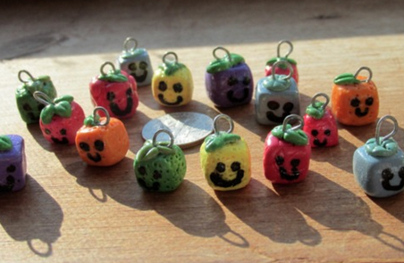 Polymer Clay Fruit Cubes by Sophie02