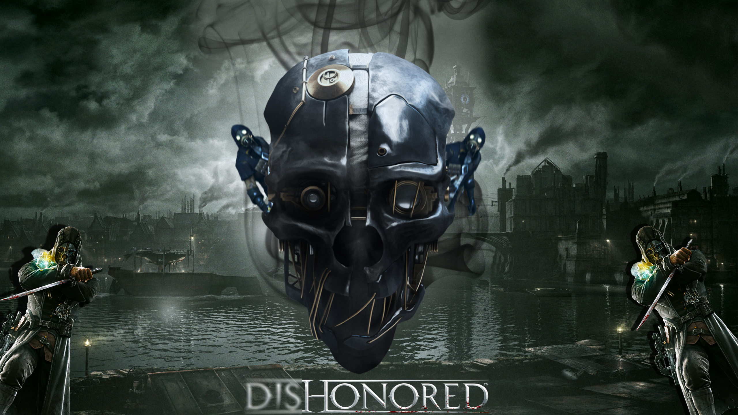 Wallpaper Dishonored By Aishylk On Deviantart