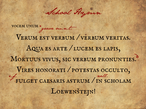 Loewenstejn - Academia Artium Magicae - Page 12