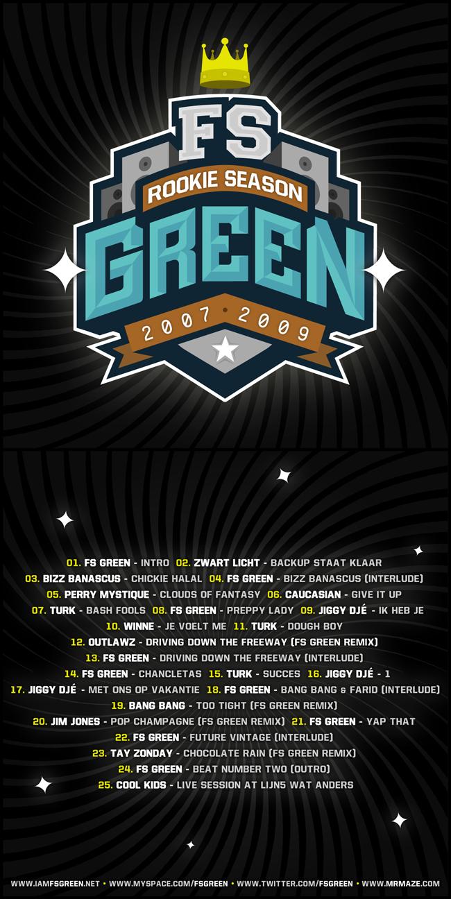 FS GREEN - Rookie Season Cover by miZter-maZe