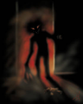 Closet Monster by themeindzeye