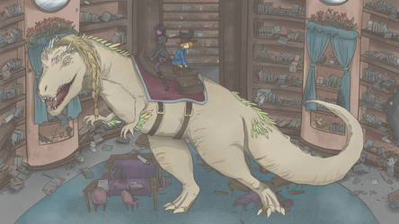 Aludrasaurus Rex by Lv100ShinyVulpix