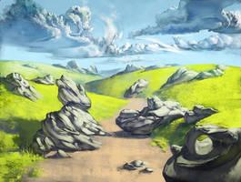 Hills by a-stepchen