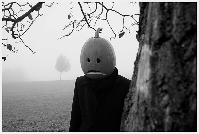 portrait of mr pumpkinhead no3 by Zendar