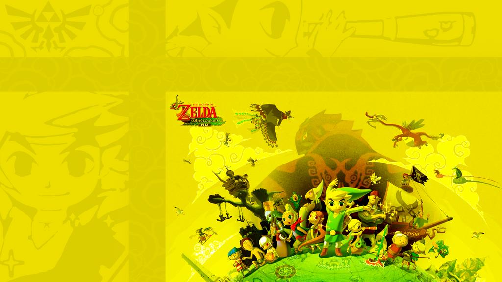 Wind Waker Hd Wallpaper: The Legend Of Zelda Wind Waker HD PS3 Wallpaper By