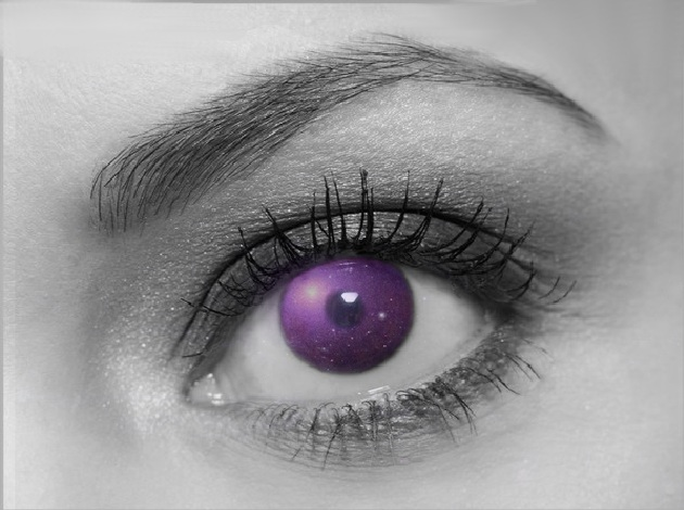 Purple Eye by ellenah1