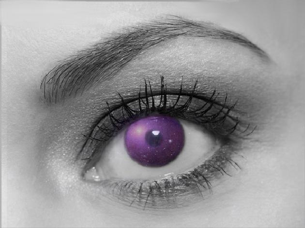 Purple Eye by ellenah1