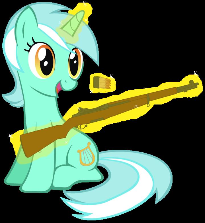 Lyra's Garand by totallynotabronyFIM