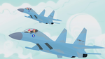 Blank Flankers