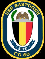 USS Bastogne crest by totallynotabronyFIM