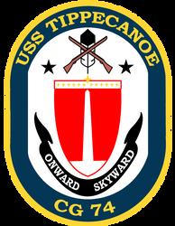 USS Tippecanoe crest by totallynotabronyFIM