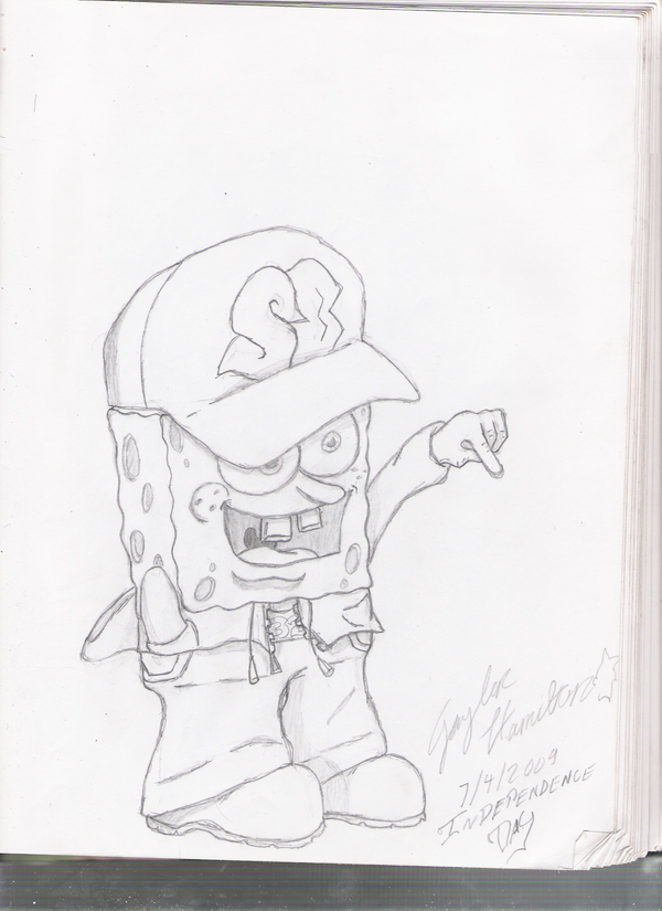 How To Draw Patrick Gangster | www.imgkid.com - The Image ...