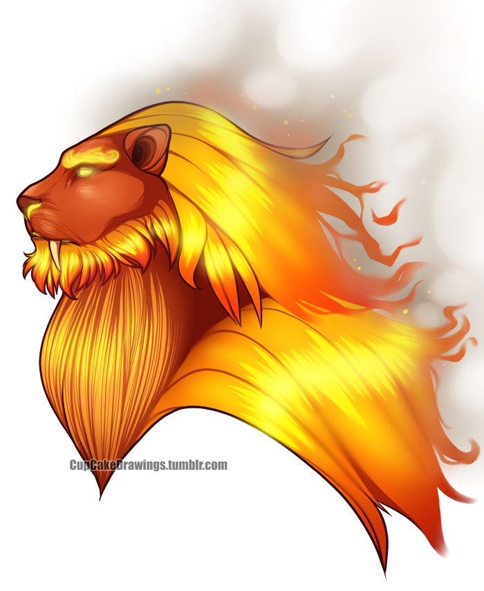 fire kitty by CupCake992