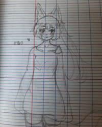Fox girl OC