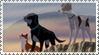 Plague dogs stamp by ArtemisA-wolf