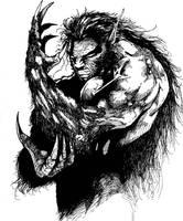 now a werewolf by madatom13