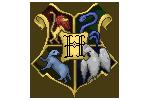 Hogwarts School Logo Pixel by hazelwang