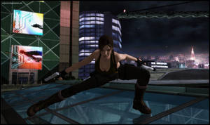 Back in the City - Lara Croft