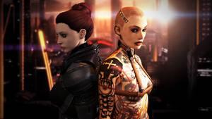 Illium - Jack and Shepard