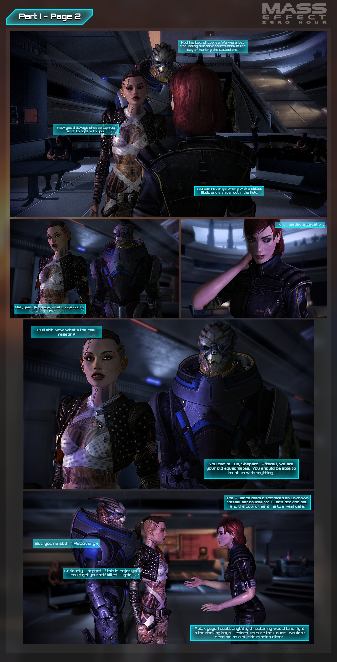 Mass Effect: Zero Hour - Part I Page 2 by andersoncathy