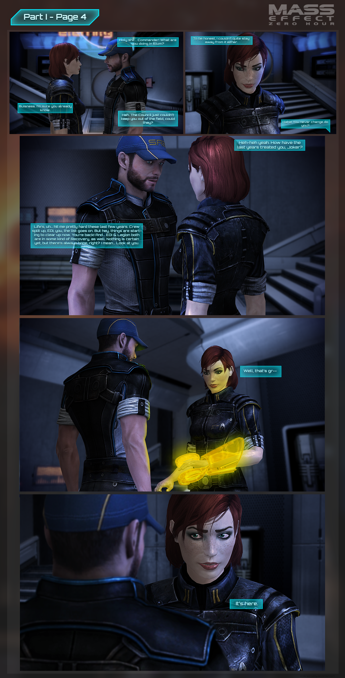 Mass Effect: Zero Hour - Part I Page 4 by andersoncathy