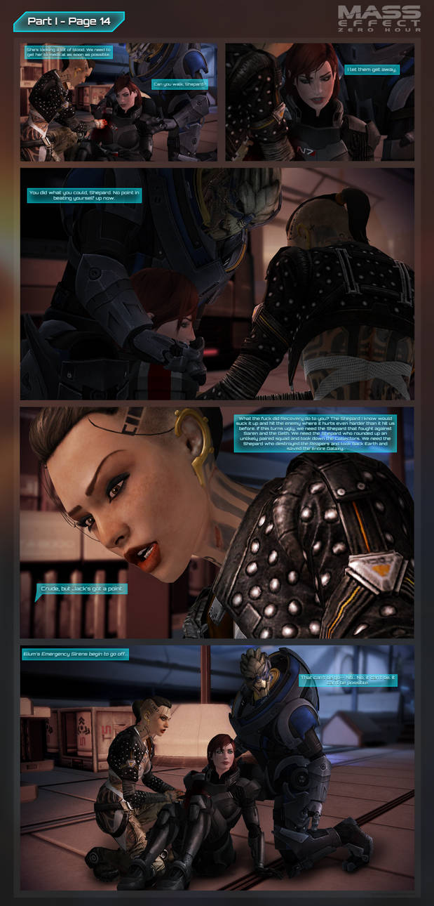 Mass Effect: Zero Hour - Part I Page 14