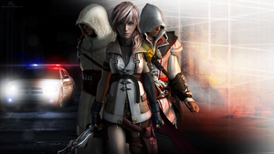 Lightning, Ezio and Altair