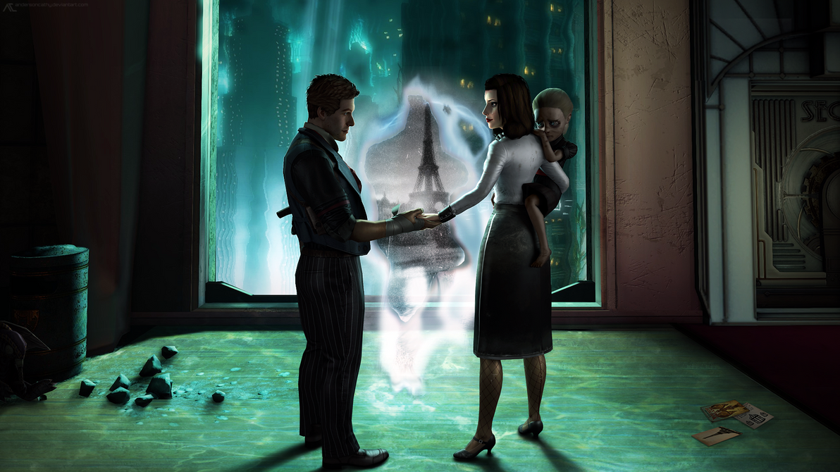 Bioshock Infinite - You Deserve Better by andersoncathy