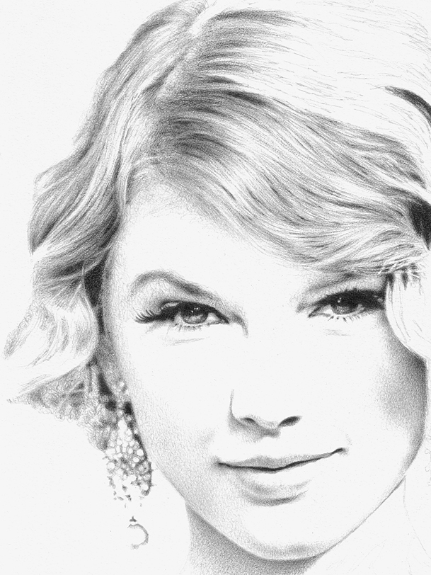 Taylor Swift   WIP4 By Pencildrawn69 ...
